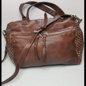 OrYany Italian Leather Cognac Brown Leather Purse